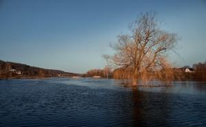 Розлив річки Оскіл на Ізюмщині