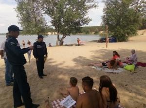 """Ізюмські рятувальники побували в """"Байдиківці"""" та на березі Червонооскільського водосховища"""